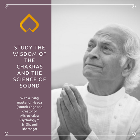 STUDY THE WISDOM OF THE CHAKRAS AND THE SCIENCE OF SOUND
