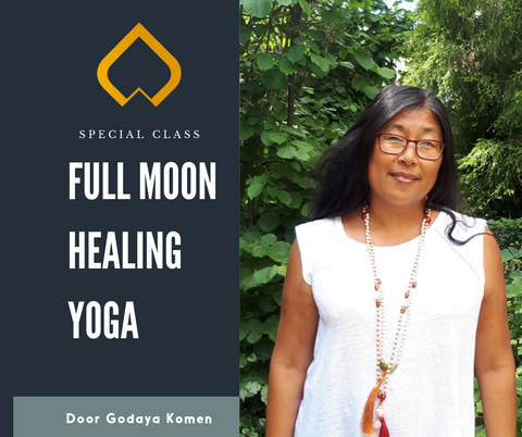 Full Moon Healing Yoga door Godaya
