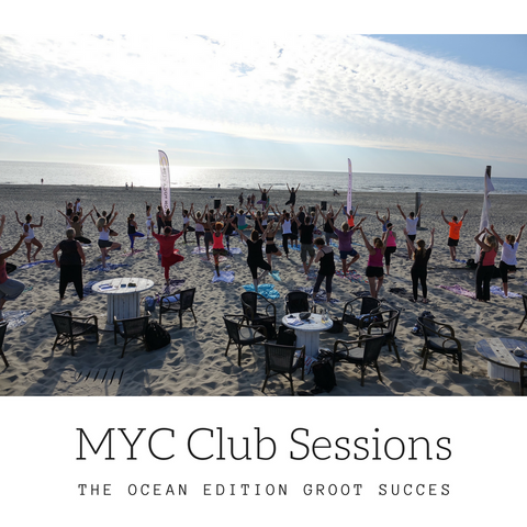 MYC Club Sessions Ocean edition groot succes