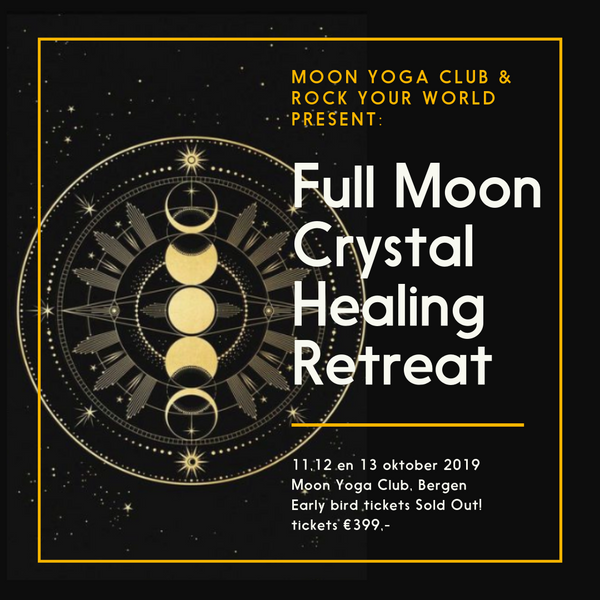 Full Moon Crystal Healing Retreat