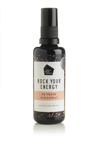 Be FRESH Aura Spray - Clear Quartz - Rock Your World