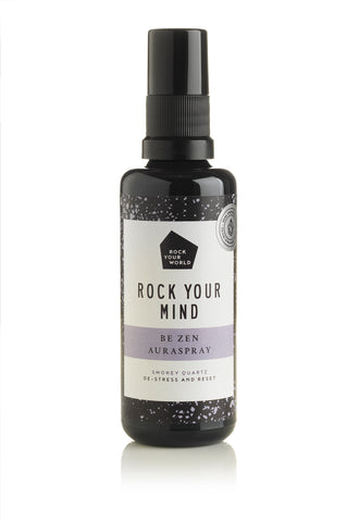 Be ZEN Aura Spray - Smokey quartz - Rock Your World