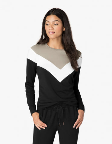 Living Easy Chevron Sweatshirt - Beyond