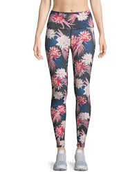 HIGH VIBE TROPICS PRINT LEGGING