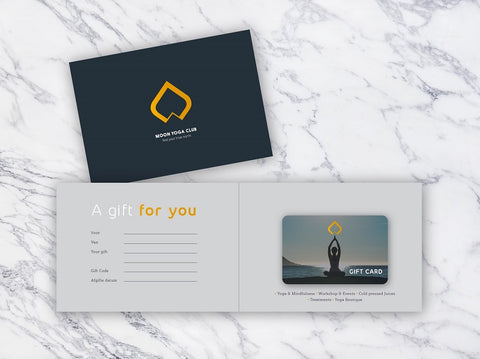 Moon Yoga Club Giftcard