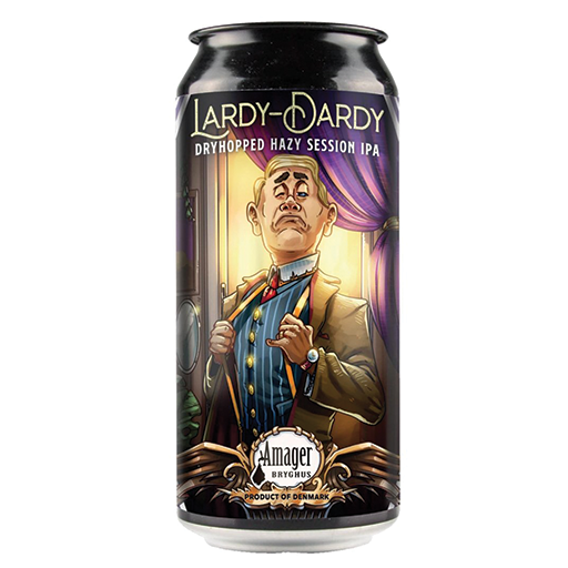 Amager Lardy Dardy Session Hazy IPA 440ml Can