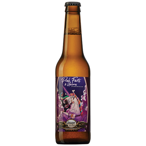 Amager Pink Farts and Unicorn Indian Pale Lager 330ml Bottle