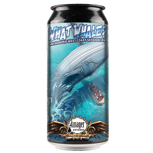 Amager What Whale Session West Coast IPA 440ml Can