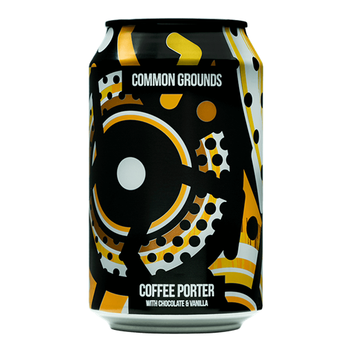Magic Rock Common Grounds Coffee Porter 330ml Can