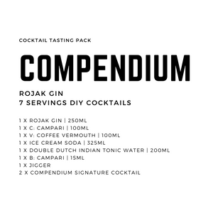 Compendium Rojak Gin Cocktail Tasting Pack