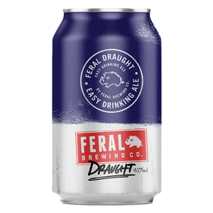 Feral Draught 375ml Can Cheapest Beer in Singapore with Free Delivery