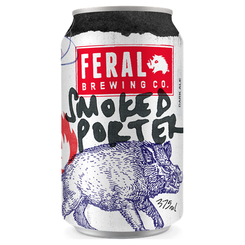 Feral Smoked Porter 375ml Can