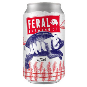 Feral White 375ml Can