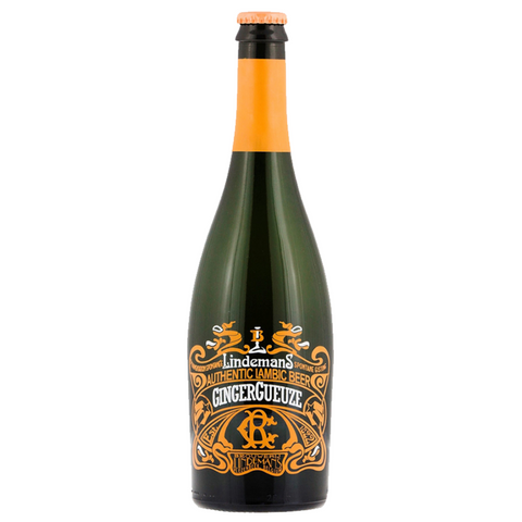 Lindemans Ginger Geuze Lambic 750ml Bottle