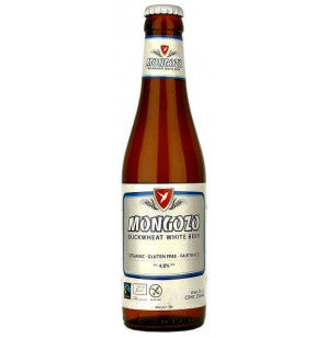 Mongozo Buckwheat White Organic Gluten Free White Beer Cheapest in Singapore Free Delivery