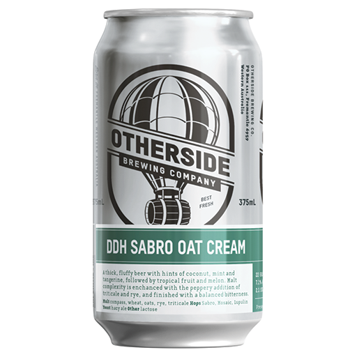 Otherside Brewing DDH Sabro Oatcream Can