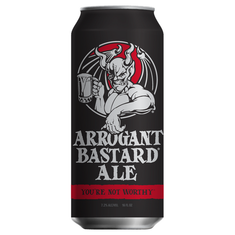 Stone Arrogant Bastard Ale 473ml Can Cheapest Beer in Singapore with Free Delivery