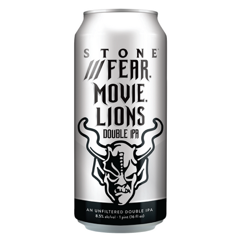 Stone Fear. Movie. Lions 473ml Can
