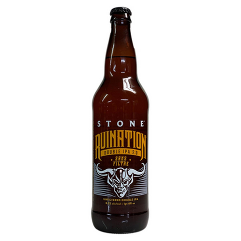Stone Ruination Double IPA Sans Filtre 355ml Bottle