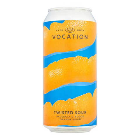 Vocation Twisted Sour Valencia and Blood Orange Sour 440ml Can