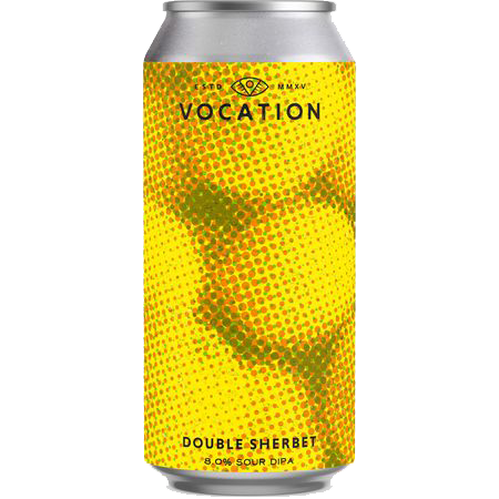 Vocation Double Sherbet (44 CL) Sour IPA  7% ABV