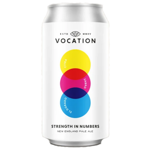 Vocation Strength In Numbers 440ml Can