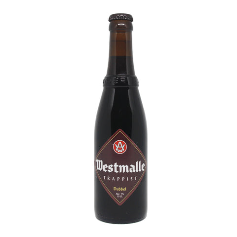 Trappist Westmalle Dubbel 330 ml bottle front view