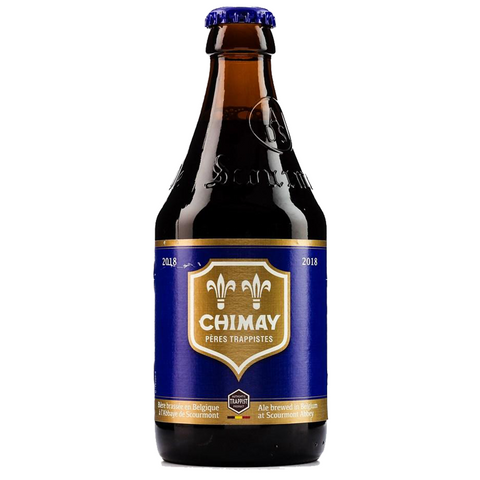 Chimay Blue 330ml Belgian Trappist Quadruple Cheapest Beer in Singapore with Free Delivery