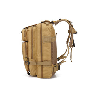 Hot Outdoor Neutral Adjustable Military Tactic Backpack Rucksacks Hiking Travel