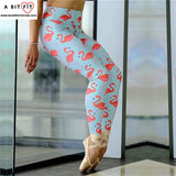 Flamingo Yoga Pants - Fitness Legging