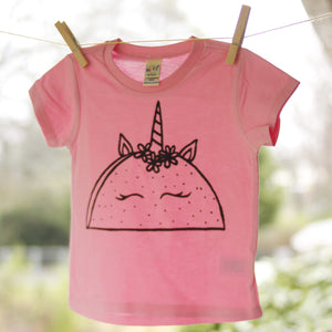 taco unicorn short sleeve tee