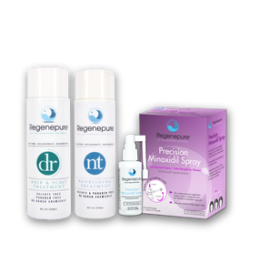 Hair Care and Hair Regrowth Kit For Her