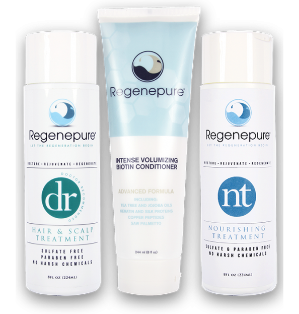 Hair Restoration Kit (DR + NT + Biotin Conditioner)