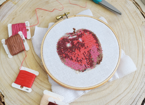 An Apple a Day - DIY Cross Stitch Kit