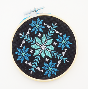 Snowflake - DIY Cross Stitch Kit