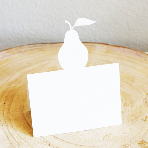 Pear Placecards - Set of 12