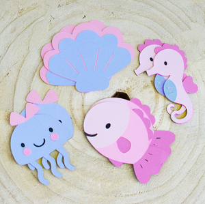Under the Sea Die Cuts - Set of 12, Custom Size