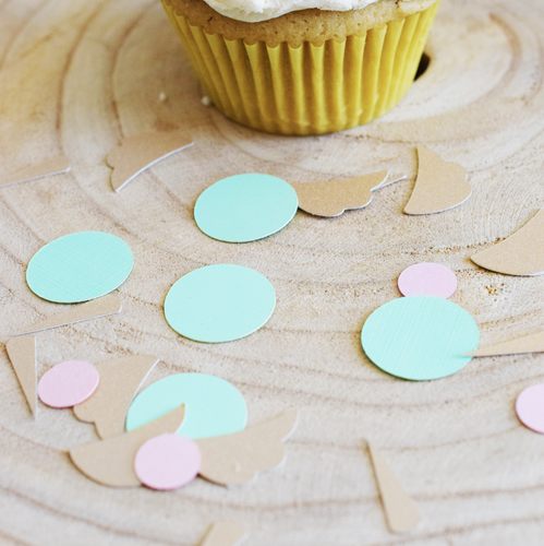 Pastel Unicorn Table Confetti