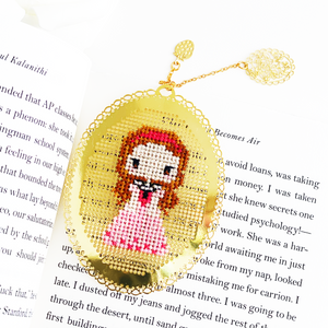 Sleeping Beauty Bookmark - DIY Cross Stitch Kit