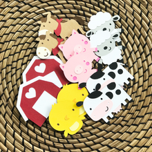 Farm Animal Die Cuts - Set of 12, Custom Size