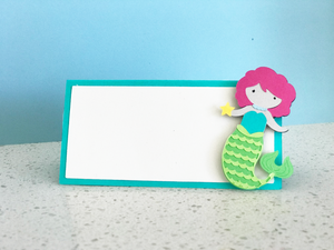 Mermaid Party Placecards - Set of 12