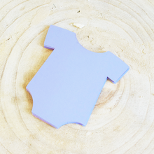 24 baby onesie die cuts in a color of your choice