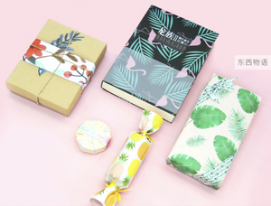 Palm Leaves Wrapping Paper - 3 Sheets
