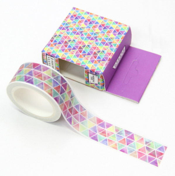 Geometric Triangle Washi Tape - 3cm