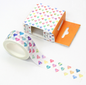 Rainbow Diamond Washi Tape - 3cm