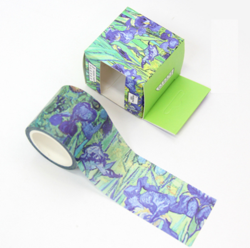 Monet Iris Painting Washi Tape - 3cm