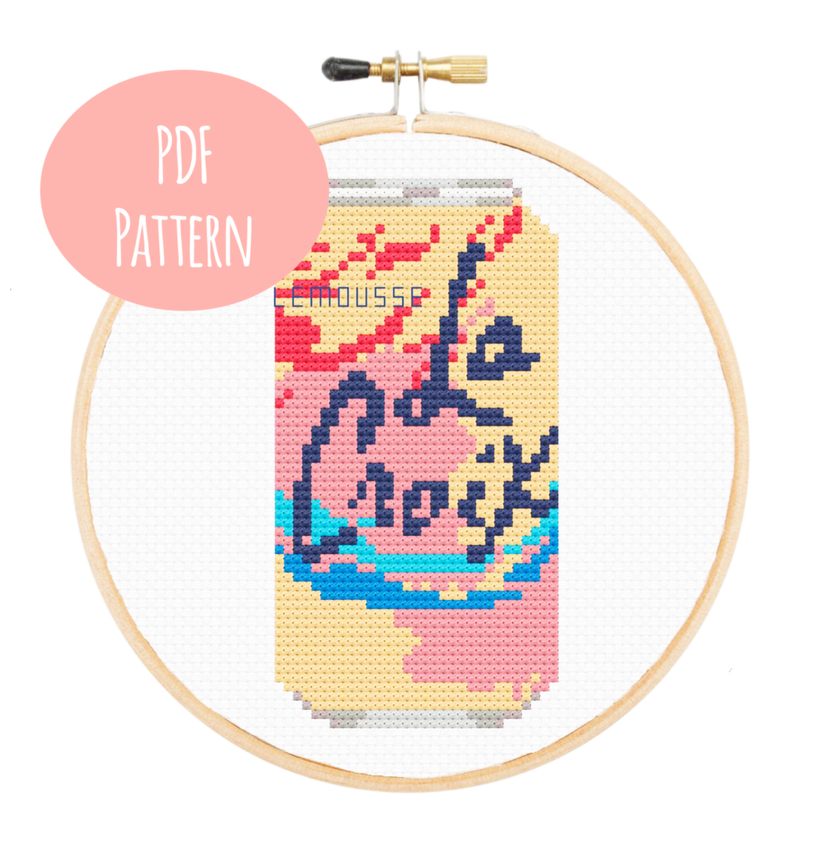 La Croix Cross Stitch - PDF Instructions