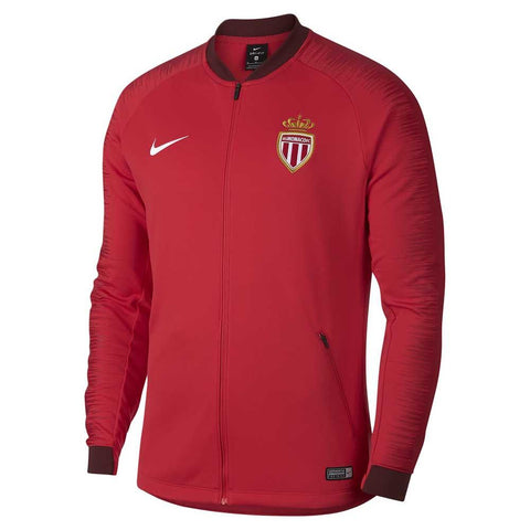Nike Official 2018-2019 AS Monaco Anthem Jacket 920050-688 Red