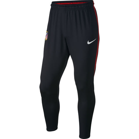 Nike Official 2017/18 Atletico Madrid Dry Squad Training Pants 855747-010 Black/Sport Red