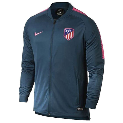 Nike Official 2017/18 Atletico Madrid Dry Squad Jacket 855782-429 Space Blue